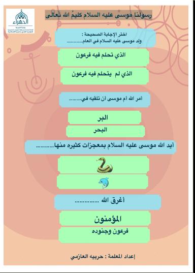 أنفوجرافيك وأوراق عمل تربية إسلامية للصف الثالث الفصل الثاني إعداد أ. حريبة العازمي
