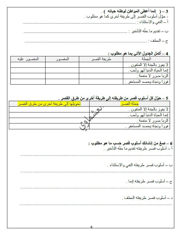 مذكرات العشماوي سورة آل عمران لغة عربية الصف الحادي عشر الفصل الثاني