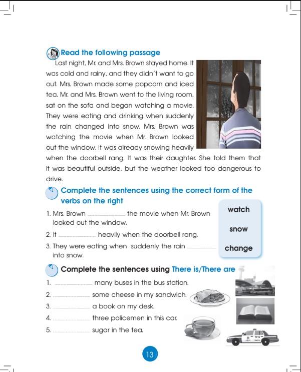 كتاب التدريبات انجليزي الصف الرابع الفصل الثاني